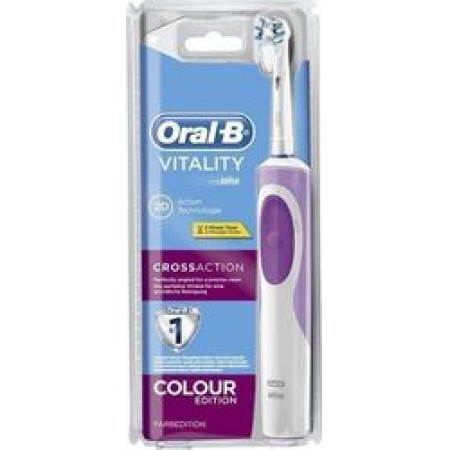 ORAL-B VITALITY CROSSACTION PINK CLS