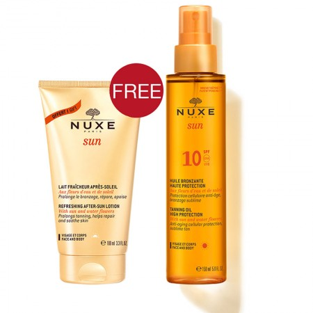 PNUXE SUNTAN OIL SPF10 150ML + AFTER SUN 100ML