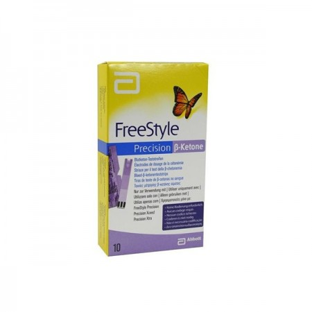 FREESTYLE PRECISION BLOOD KETONE 10 STRIPS