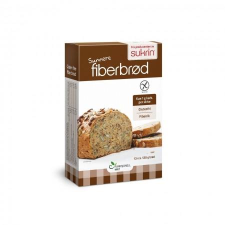 Sukrin Fiber Bread Mix - 250 gr  Μειγμα Ψωμιου Χωρις Γλουτενη Με φυτικες Ινες