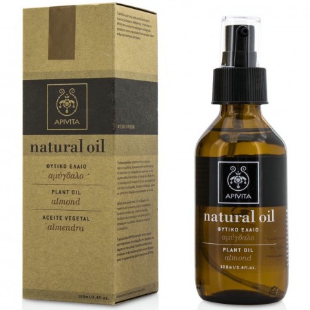 APIVITA NATURAL OIL ORGANIC MASSAGE OIL ALM 100ML