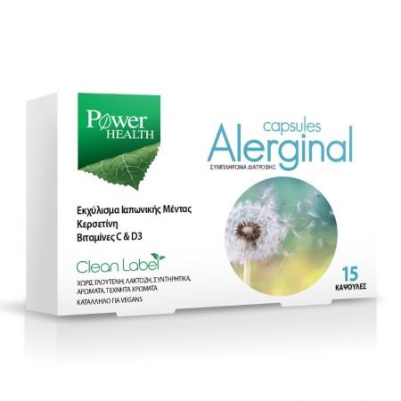 POWER HEALTH ALERGINAL CAPS 15S