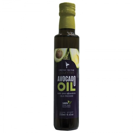 AVOCADO OIL (ΒΡΩΣΙΜΟ) 250ml [BIOAΓΡOΣ]