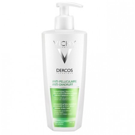 DERCOS ANTIPEL SH GRAS F390ML