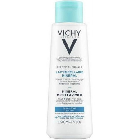 VICHY PURETE THERMAL MICEL MILK DRY 200ML