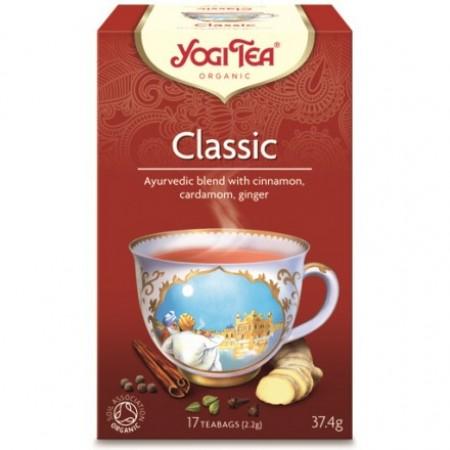 ΒΙΟ-ΥΓΕΙΑ YOGI TEA CLASSIC X17 TEA BAGS 37,4g