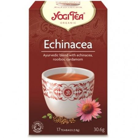 ΒΙΟ-ΥΓΕΙΑ YOGI TEA ECHINACEA X17 TEA BAGS 30,6g