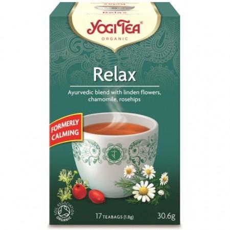ΒΙΟ-ΥΓΕΙΑ YOGI TEA CALMING (RELAX) X17 TEA BAGS 30,6g