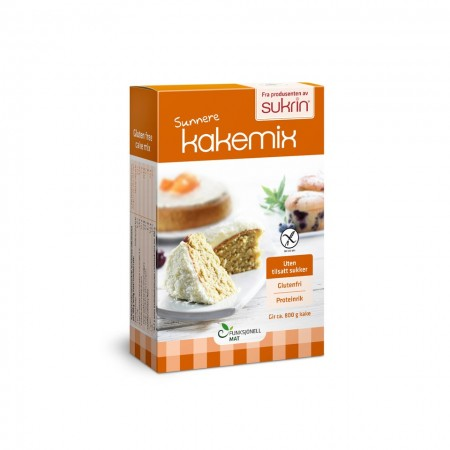 Sukrin Cake Mix - μείγμα για κέικ χωρίς γλουτένη 360gr