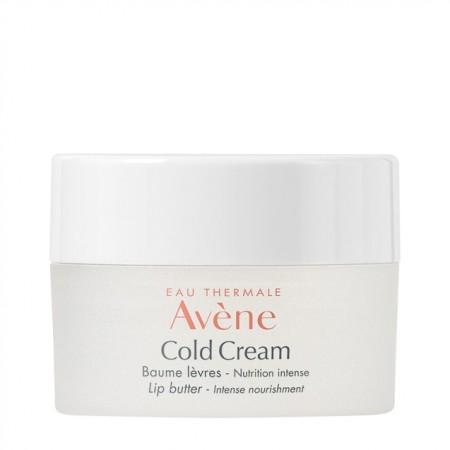Avene Cold Cream Baume Levres 10ml - Βάλσαμο Χειλιών Εντατικής Θρέψης & Ενυδάτωσης