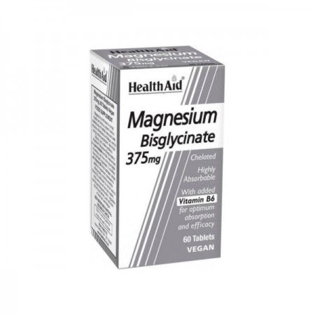 HEALTH AID MAGNESIUM BISGLYCINATE 60TABS