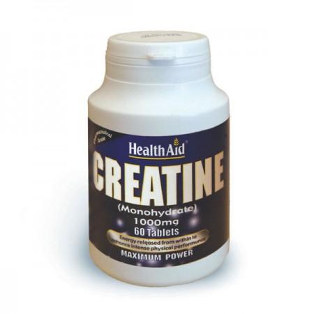 HEALTH AID CREATINE 1000MG 60TABS