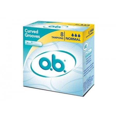 O.B TAMPONS NORMAL  X8