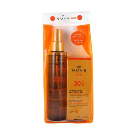 PNUXE SET SUN OIL SPF30+FACE SPF30
