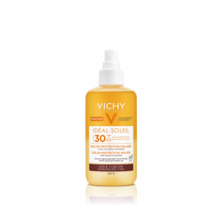 Vichy Ideal Soleil Protective Solar Water Enhanced Tan SPF30 200ml