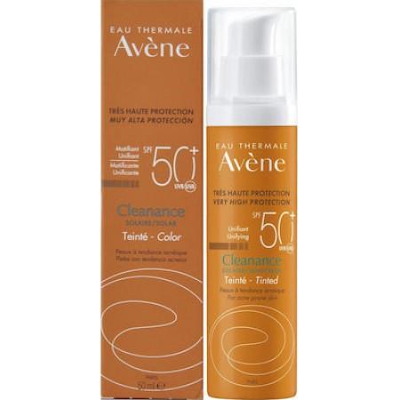 AVENE CLEANANCE SOLAIRE  TEINTEE SPF50+ 50ML