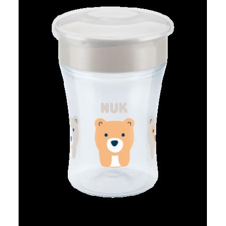 NUK MAGIC CUP 8+ 230ML (ΛΕΥΚΟ)