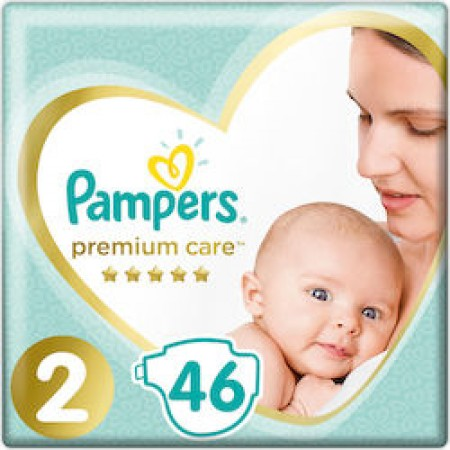 PAMPERS PREMIUM CARE ΜΕΓ 2 1X46
