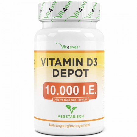 Vit4ever VITAMIN D3 10.000 (250mg) x365 tab
