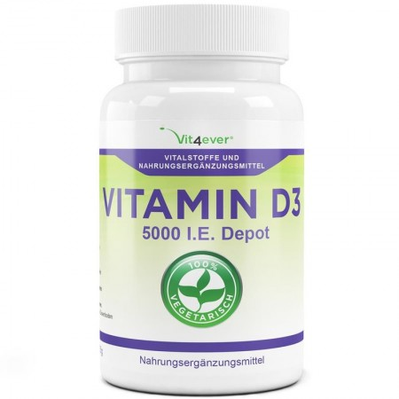 vit4ever VITAMIN D3 5.000 (125mg) x500 tab