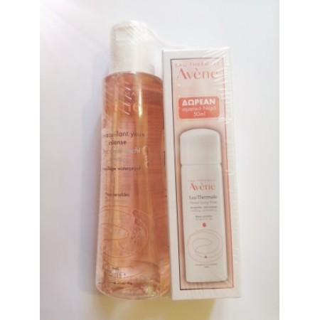 AVENE DEMAQ YEUX INTENSE 125ML & ΜΙΝΙ ΕAU THERMAL 50ML