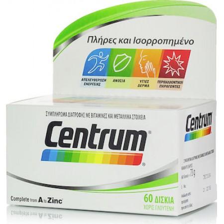 CENTRUM A-ZINC (DSSC) TABS 60'S