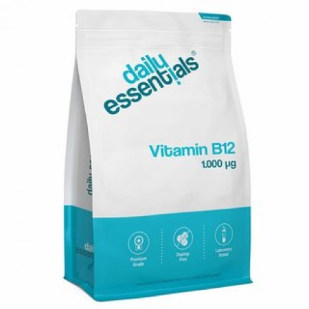 DAILY ESSENTIALS VITAMIN B12 1.000μg
