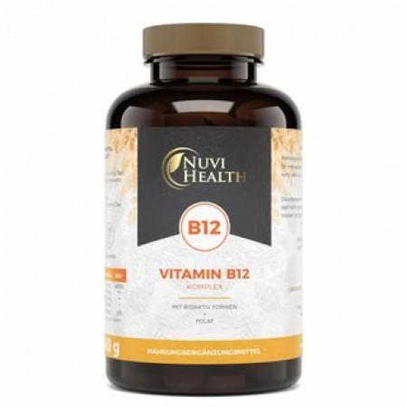 NUVI HEALTH VITAMIN B12 KOMPLEX 1000 μg 240 TABS