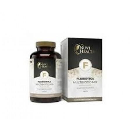 NUVI HEALTH FLOBIOTICA- MULTIBIOTIC -MIX 120 TBS