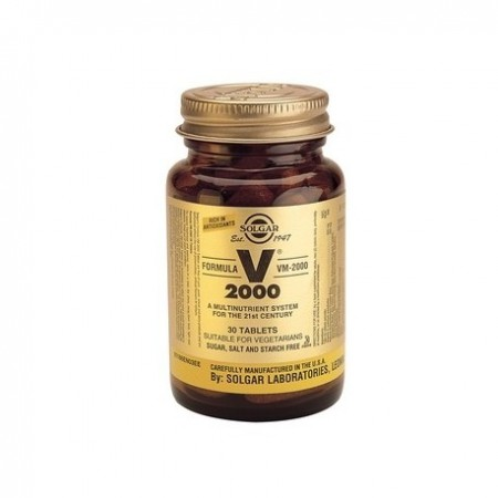 SOLGAR  V-2000 MULTINUTRIENT 30TBS