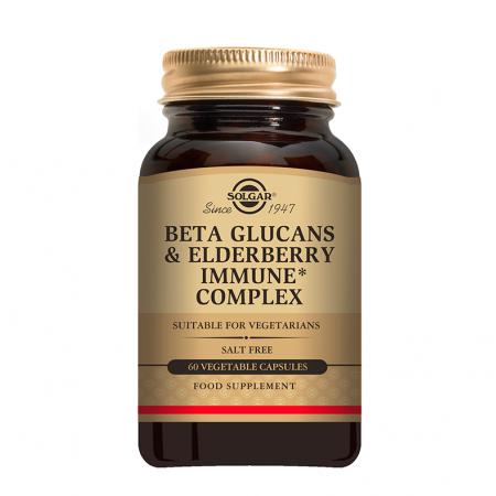 SOLGAR BETA  GLUCANS IMMUNE COMPLEX 60S
