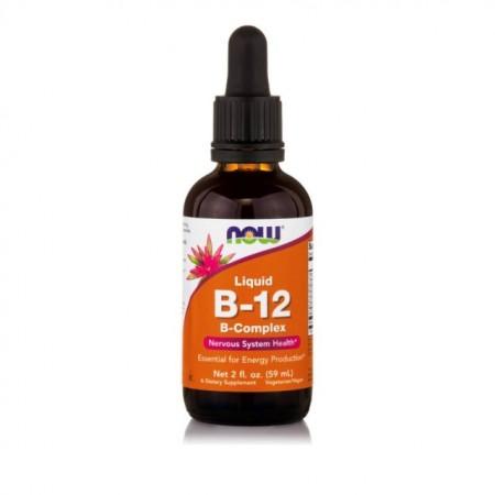 NOW LIQUID B-12 COMPLEX - VEGETARIAN 2 OZ