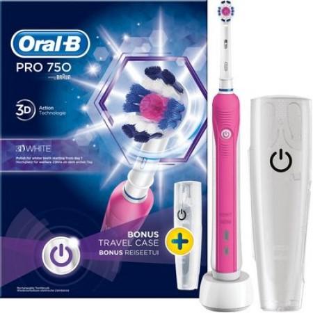 ORAL-B PRO1 750 PINK DESIGN EDIT. 1X1