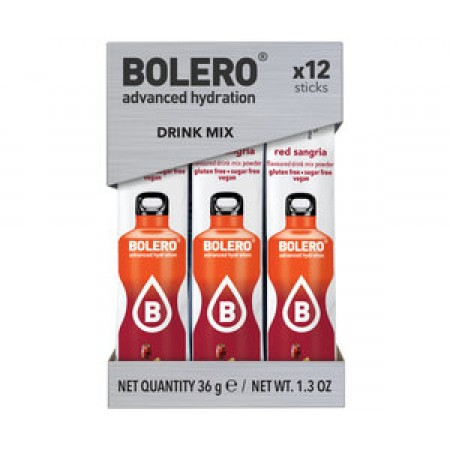 BOLERO-STICK RED SANGRIA 12x3g