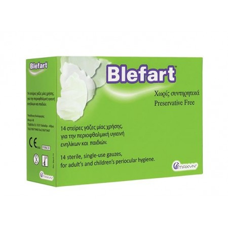 BLEFART X14 STERILE GAUZES