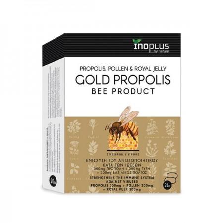 INOPLUS GOLD PROPOLIS BEE PRODUCT 20TABS