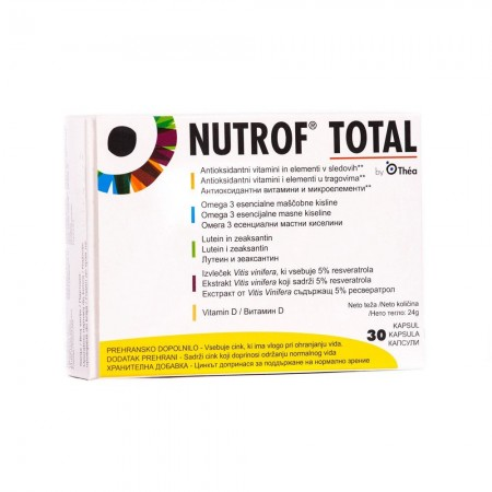 NUTROF TOTAL SOFT CAPS*30