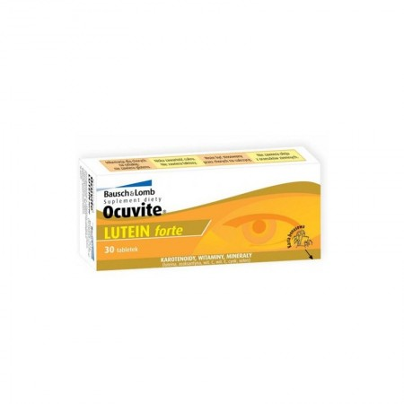 BAUSCH & LOMB OCUVITE LUTEIN FORTE 30s