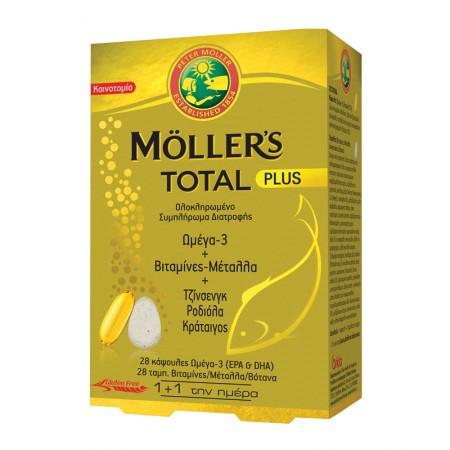 MOLLER'S TOTAL PLUS 28 CAPS + 28 TABS