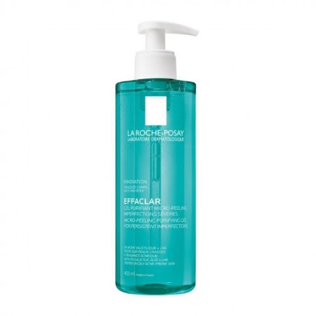 La Roche Posay Effaclar Μιcro-Peeling Purifying Gel Αφρώδες Gel Καθαρισμού Πρόσωπο & Σώμα, 400ml