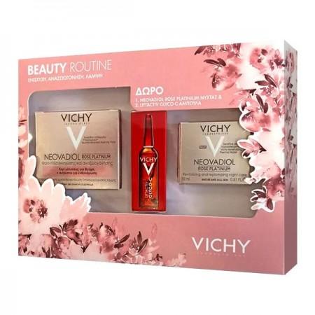 Vichy Promo Neovadiol Rose Platinium 50 ml & Neovadiol Rose Platinium Nuit 15 ml & Liftactiv Glyco-