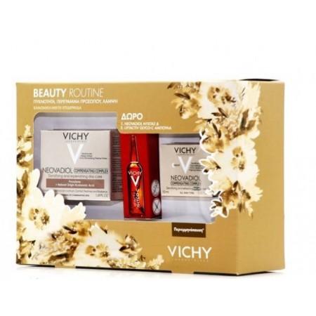 Vichy Neovadiol Compensating Complex Day Cream για κανονικές-μικτές 50ml, Night Cream 15ml & Liftact