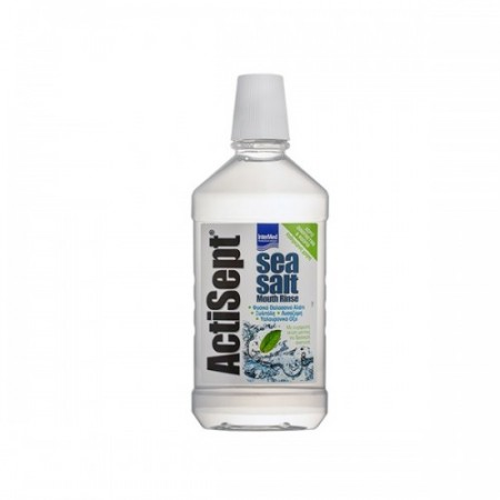 INTERMED ACTISEPT SEASALT MOUTHRINSE [FLx500mL]