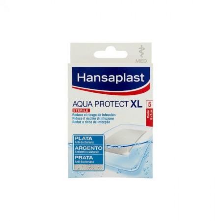 HANSAPLAST AQUA XL ANTIBACTERIAL 7 X 6CM 5 STRIPS
