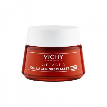 Vichy Liftactiv Collagen Specialist Night Αντιγηραντική Νυκτός 50ml