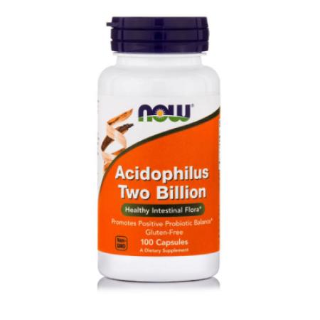 NOW ACIDOPHILUS 2 BILLION  100 CAPS