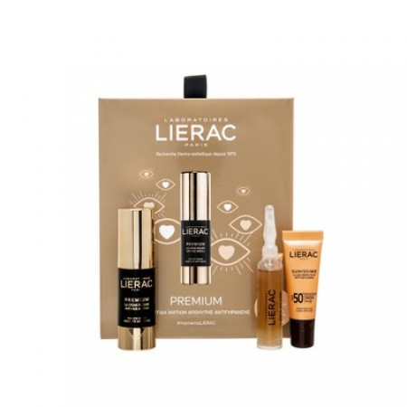 Lierac Promo Pack Premium Yeux 15ml + Cica Filler Serum 10ml + Sunissime Fluide Protecteur Anti Age