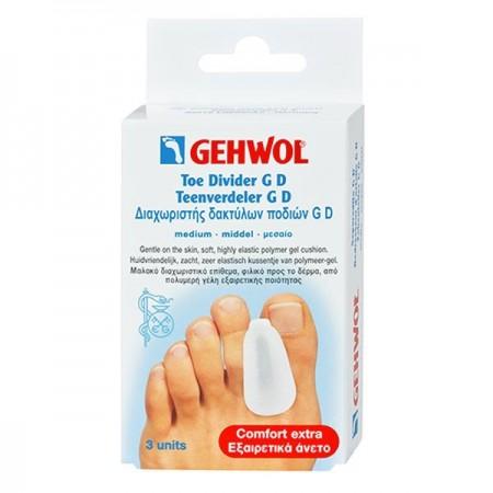 GEHWOL TOE SEPARATORS G (ΜΕDIUM) 3 ΙTEMS