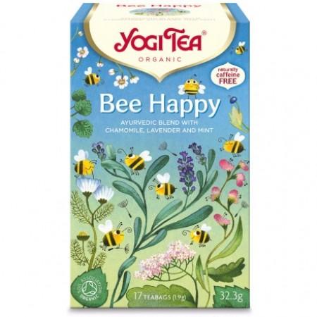ΒΙΟ-ΥΓΕΙΑ YOGI TEA BEE HAPPY X17 TEA BAGS 35,7gr