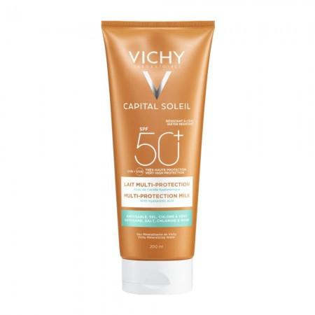 VICHY CAPITAL SOLEIL BEACH PROTECT MILK SPF50+ 200ML